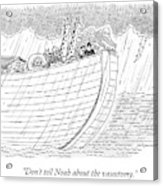 Tourists On Noah's Ark Acrylic Print