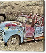 Tow Truck Acrylic Print
