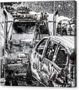 Tow Truck Towing Demolition Car Acrylic Print