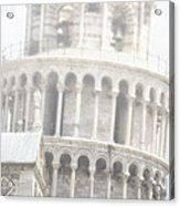 Tower And Fog Acrylic Print
