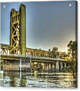 Tower  Bridge 2 Sacramento Acrylic Print