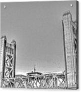 Tower Bridge 3 Sacramento Acrylic Print
