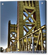 Tower Bridge 4 Sacramento Acrylic Print