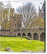 Tower Bridge And London Tower Acrylic Print
