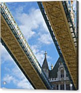 Tower Bridge Acrylic Print by Christi Kraft
