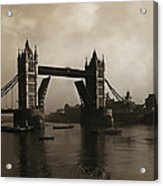 Tower Bridge London 1906 Acrylic Print