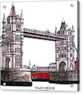 Tower Bridge - London Acrylic Print