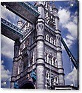 Tower Bridge London Acrylic Print by Mariola Bitner