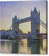 Tower Bridge Sunrise Acrylic Print