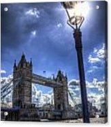 Tower Bridge View Acrylic Print