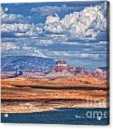 Tower Butte Acrylic Print