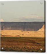 Tower Butte Panorama Acrylic Print