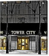 Tower City In Cleveland Ohio Acrylic Print