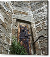 Tower Door Acrylic Print