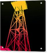 Tower Duty Alcatraz Acrylic Print