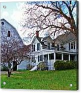 Tower Farm Washburn Maine Acrylic Print