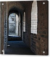 Tower In The Great Wall 695 Acrylic Print
