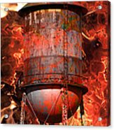 Tower Inferno Acrylic Print