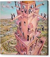 Tower Of Babbit Acrylic Print