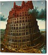 Tower Of Bable Acrylic Print