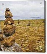 Tower Of Balancing Rocks Acrylic Print