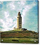 Tower Of Hercules La Coruna Acrylic Print