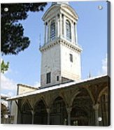 Tower Of Justice - Topkapi Palace - Istanbul Acrylic Print