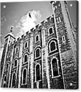 Tower Of London Acrylic Print by Elena Elisseeva