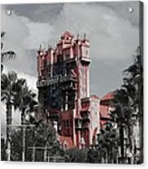 Tower Of Terror  In Color Acrylic Print