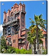 Tower Of Terror Acrylic Print by Thomas Woolworth