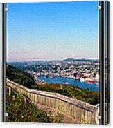 Tower Over The City Triptych Acrylic Print
