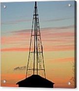 Tower Sunrise Acrylic Print