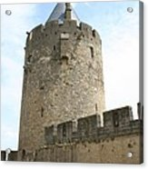 Tower Town Wall - Carcassonne Acrylic Print