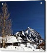 Towering Above Crested Butte Acrylic Print