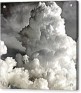 Towering Clouds Acrylic Print