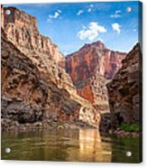 Towering Walls Acrylic Print by Inge Johnsson