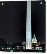 Towering Washington Monument Acrylic Print