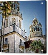 Towers At Hearst Castle - California Acrylic Print