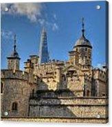 Towers Of London Acrylic Print