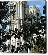 Towers Of Notre Dame Acrylic Print