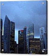 Towers Of Singapore Acrylic Print