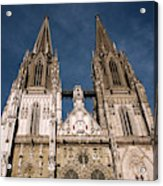Towers Of St Peter's Cathedral In Old Acrylic Print