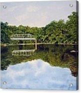Town Bridge Acrylic Print