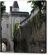 Town Gate - Loches - France Acrylic Print