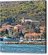 Town Of Kukljica On Ugljan Island Acrylic Print