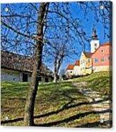 Town Of Varazdinske Toplice Center Park Acrylic Print