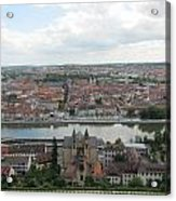 Town Of Wurzburg Acrylic Print
