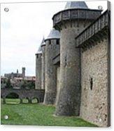 Town Wall - Carcassonne Acrylic Print