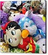 Toy Bin Acrylic Print