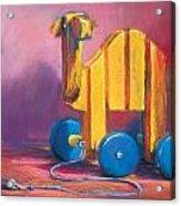 Toy Camel Acrylic Print